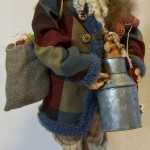 Farm Decor Santa Claus