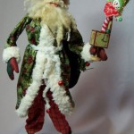 Santa and Toy Decoration