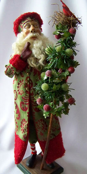 Santa and Tree Home Decor
